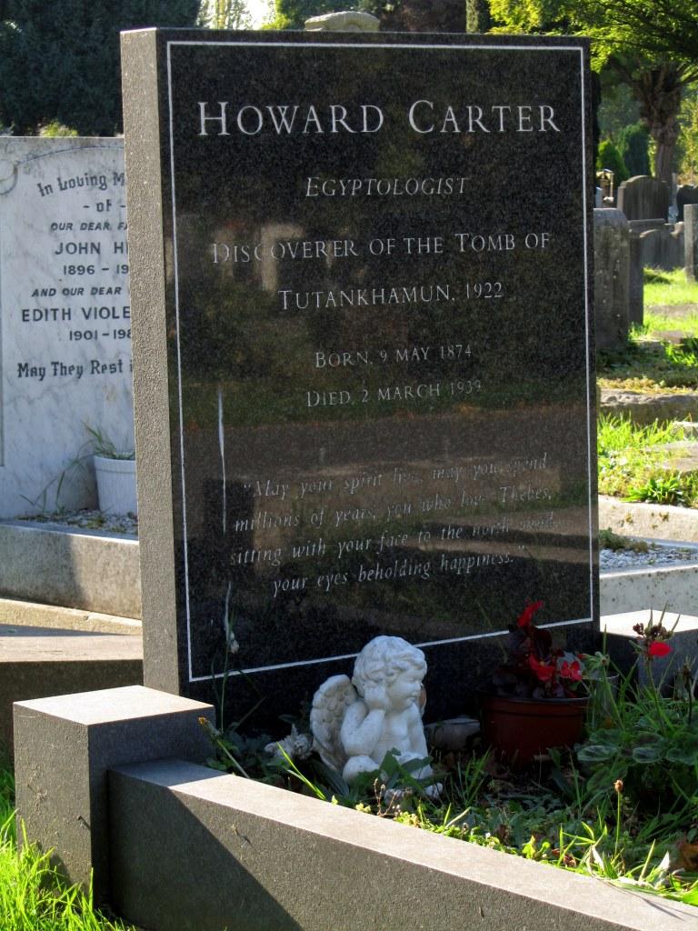 Howard Carter's Grave, Putney Vale Cemetery