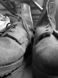 Working boots, CHAC, Yeovil
