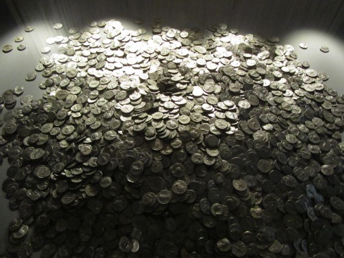 The Shapwick Hoard can now be seen in the Museum of Somerset in Taunton.