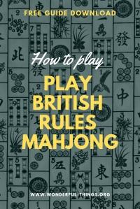 British Rules Mahjong Guide