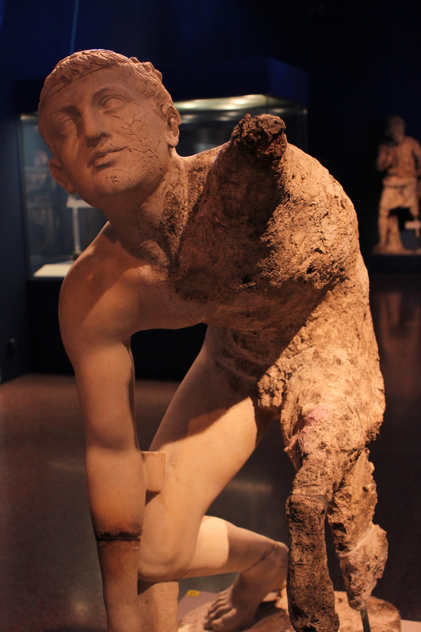 The Wrestler of the Antikythera Shipwreck