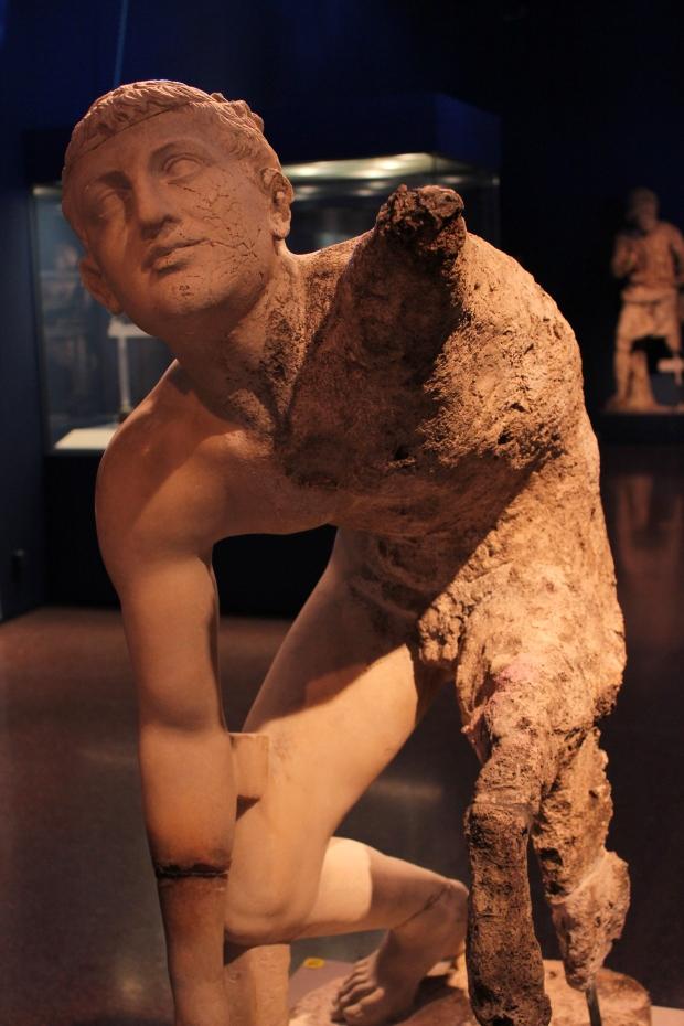 The Wrestler of the Antikythera Shipwreck