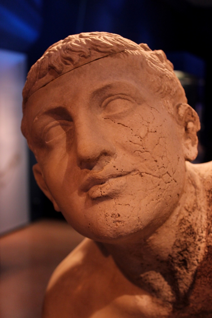 The Wrestler, Antikythera shipwreck