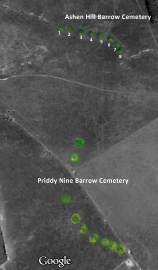 Ashen Hill and Priddy Nine Barrow Cemeteries