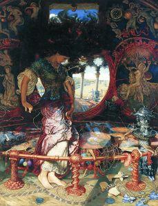 William Holman Hunt's Lady of Shalott (1905)