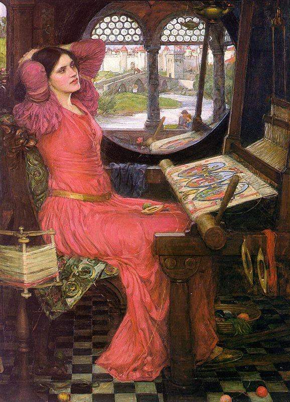 the lady of shalott a poem by alfred lord tennyson wonderful things photography. Black Bedroom Furniture Sets. Home Design Ideas