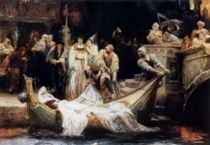 "G.E. Robertson's ""The Lady of Shalott"""