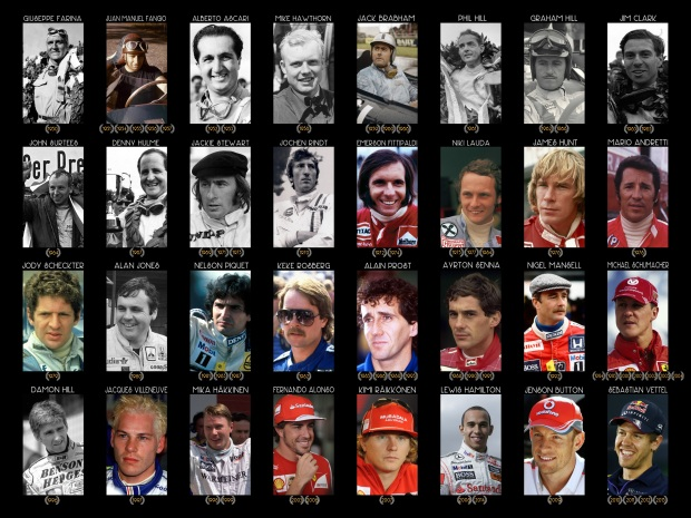 Formula One World Champions since 1950