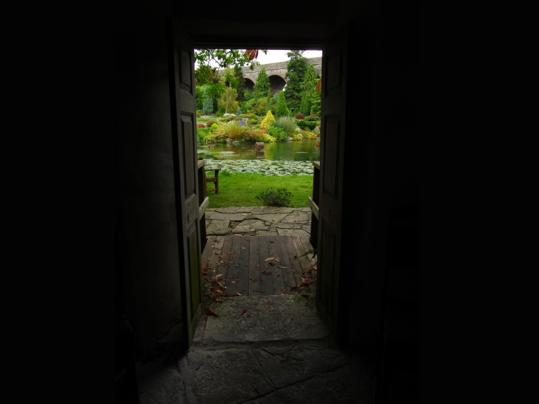 Doorway, Kilver Court Garden, Somerset