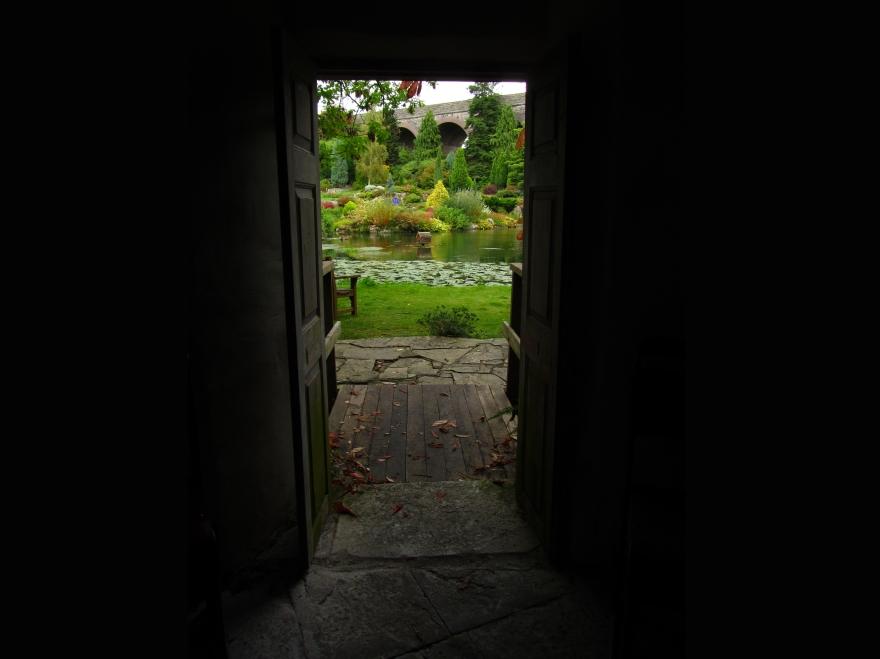 Doorway, Kilver Court Garden, Somerset