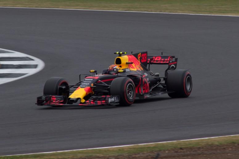 4th: Max Verstappen, Red Bull