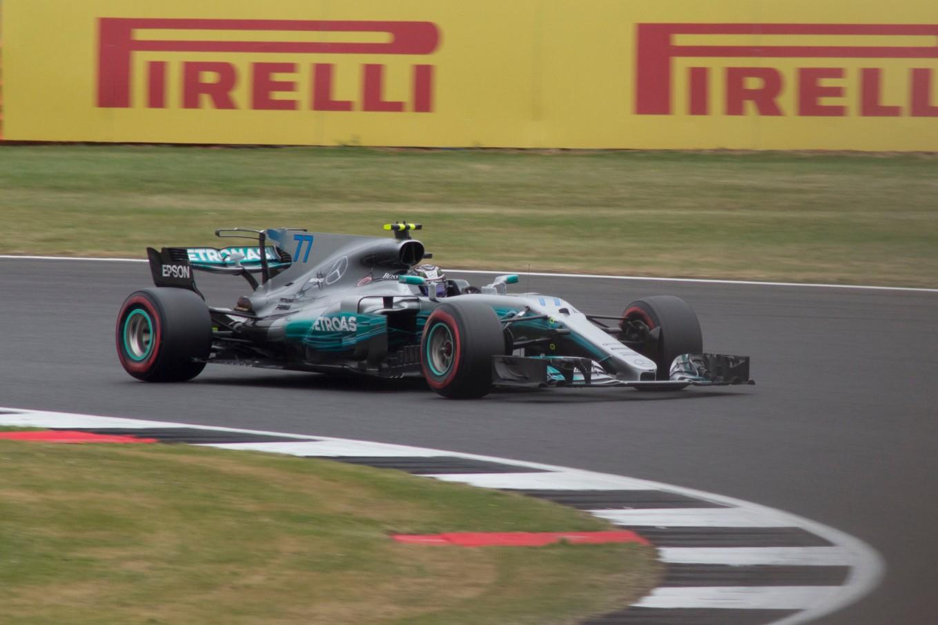 2nd: Valtteri Bottas, Mercedes