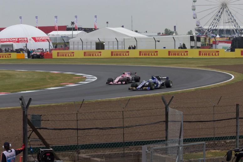 14th: Marcus Ericsson, Sauber (being caught by Esteban Ocon)